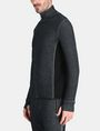 ARMANI EXCHANGE REFLECTIVE LOGO MOCKNECK JACKET Fleece-Jacke Herren d