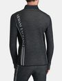 ARMANI EXCHANGE REFLECTIVE LOGO MOCKNECK JACKET Fleece-Jacke Herren r