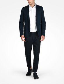 ARMANI EXCHANGE SLIM FIT CHAMBRAY SHIRT Long-Sleeved Shirt Man a