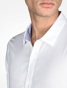ARMANI EXCHANGE SLIM FIT CHAMBRAY SHIRT Long-Sleeved Shirt Man e