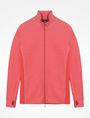 ARMANI EXCHANGE REFLECTIVE LOGO MOCKNECK JACKET Fleece Jacket Man b