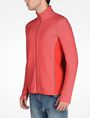ARMANI EXCHANGE REFLECTIVE LOGO MOCKNECK JACKET Fleece Jacket Man d