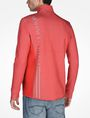 ARMANI EXCHANGE REFLECTIVE LOGO MOCKNECK JACKET Fleece Jacket Man r
