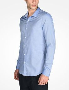 ARMANI EXCHANGE SLIM FIT CHAMBRAY SHIRT Langärmeliges Hemd Herren d