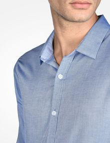 ARMANI EXCHANGE SLIM FIT CHAMBRAY SHIRT Long sleeve shirt Man e