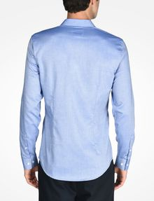 ARMANI EXCHANGE SLIM FIT CHAMBRAY SHIRT Langärmeliges Hemd Herren r