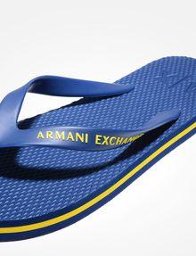 11752a8af Armani Exchange SOLID FLIP FLOPS
