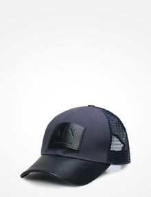ARMANI EXCHANGE AX LOGO MESH HAT Hat Man f