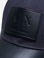 ARMANI EXCHANGE AX LOGO MESH HAT Hat Man d