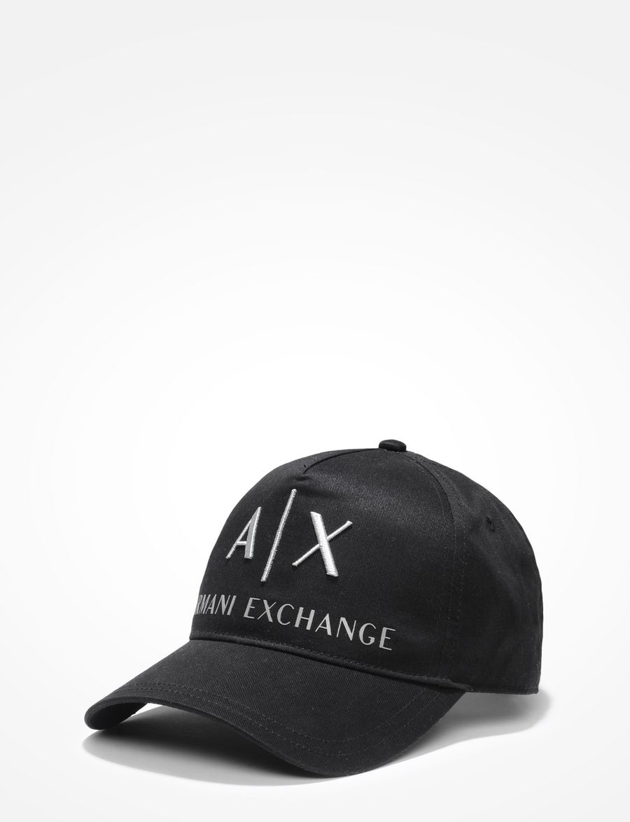 Armani Exchange AX EMBROIDERED HAT d8d53730f89