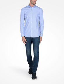ARMANI EXCHANGE SLIM FIT STRIPED SHIRT Long sleeve shirt Man a