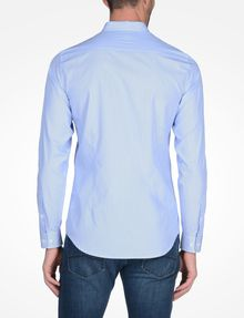 ARMANI EXCHANGE SLIM FIT STRIPED SHIRT Long sleeve shirt Man r