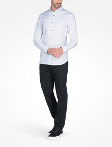 ARMANI EXCHANGE SLIM FIT STRIPED SHIRT Long-Sleeved Shirt Man a