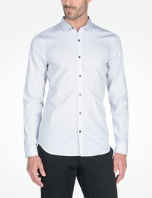 ARMANI EXCHANGE SLIM FIT STRIPED SHIRT Langärmeliges Hemd Herren f
