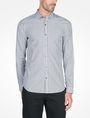 ARMANI EXCHANGE SLIM FIT STRIPED SHIRT Long sleeve shirt Man f