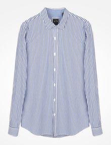 ARMANI EXCHANGE SLIM FIT STRIPED SHIRT Long-Sleeved Shirt Man b