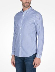 ARMANI EXCHANGE SLIM FIT STRIPED SHIRT Long-Sleeved Shirt Man d