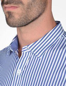 ARMANI EXCHANGE SLIM FIT STRIPED SHIRT Long-Sleeved Shirt Man e