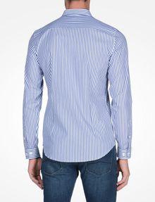 ARMANI EXCHANGE SLIM FIT STRIPED SHIRT Long-Sleeved Shirt Man r