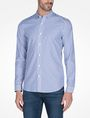 ARMANI EXCHANGE SLIM FIT STRIPED SHIRT Long-Sleeved Shirt Man f