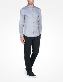 ARMANI EXCHANGE SLIM FIT CHAMBRAY SHIRT Long sleeve shirt Man a