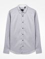 ARMANI EXCHANGE SLIM FIT CHAMBRAY SHIRT Long sleeve shirt Man b