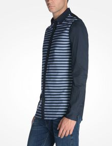ARMANI EXCHANGE LONG SLEEVE STRIPED SHIRT Long sleeve shirt U d