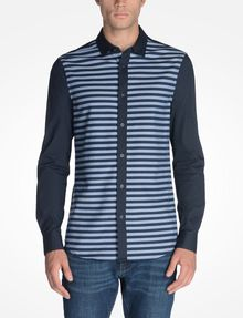 ARMANI EXCHANGE LONG SLEEVE STRIPED SHIRT Long sleeve shirt U f