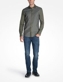 ARMANI EXCHANGE LONG SLEEVE STRIPED SHIRT Long sleeve shirt U a