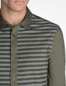 ARMANI EXCHANGE LONG SLEEVE STRIPED SHIRT Long sleeve shirt U e