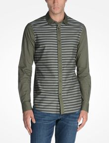 ARMANI EXCHANGE LONG SLEEVE STRIPED SHIRT Long sleeve shirt Man f