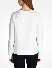 ARMANI EXCHANGE DEBOSSED LOGO SWEATSHIRT Fleece Top Woman r