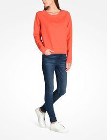 ARMANI EXCHANGE Fleece-Top Damen a