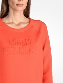 ARMANI EXCHANGE Fleece-Top Damen e