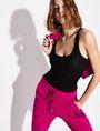 ARMANI EXCHANGE CLASSIC RIB RACERBACK TANK S/L Knit Top Woman a