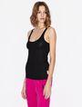 ARMANI EXCHANGE CLASSIC RIB RACERBACK TANK S/L Knit Top Woman f