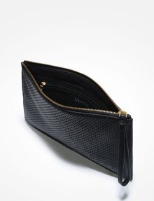 ARMANI EXCHANGE PERFORATED CLUTCH Bag D e