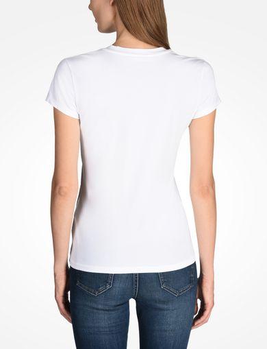 ARMANI EXCHANGE Camiseta con logotipo Mujer R