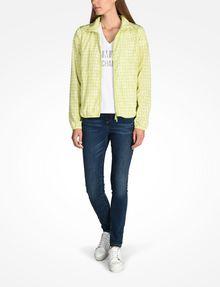 ARMANI EXCHANGE NAIL STUD V-NECK TEE Logo-T-Shirt Damen a