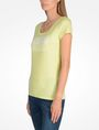 ARMANI EXCHANGE LIVED IN LOGO SCOOP NECK TEE Logo T-shirt Woman d