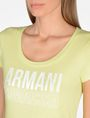 ARMANI EXCHANGE LIVED IN LOGO SCOOP NECK TEE Logo T-shirt Woman e