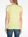 ARMANI EXCHANGE LIVED IN LOGO SCOOP NECK TEE Logo T-shirt Woman r