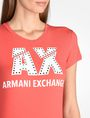 ARMANI EXCHANGE Logo-T-Shirt Damen e