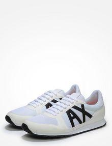 Armani Ax Logo Sneakers In fh4hJ