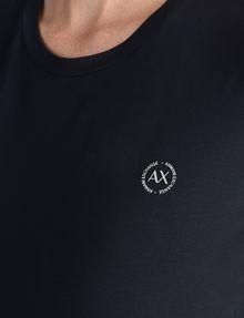 ARMANI EXCHANGE CIRCLE LOGO CREWNECK TEE Logo-T-Shirt Damen e