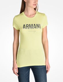 ARMANI EXCHANGE Logo-T-Shirt [*** pickupInStoreShipping_info ***] f