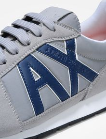 ARMANI EXCHANGE RETRO LOGO SNEAKERS Sneakers [*** pickupInStoreShippingNotGuaranteed_info ***] a