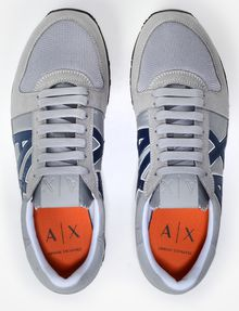 ARMANI EXCHANGE RETRO LOGO SNEAKERS Sneakers Man e