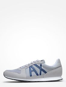 ARMANI EXCHANGE RETRO LOGO SNEAKERS Sneakers [*** pickupInStoreShippingNotGuaranteed_info ***] f