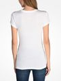 ARMANI EXCHANGE GLITTER SHOWER LOGO TEE Logo T-shirt Woman r